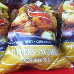 Potatoes Washed Agria 2.5 kg