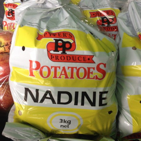 Potatoes 3kg Washed Nadine