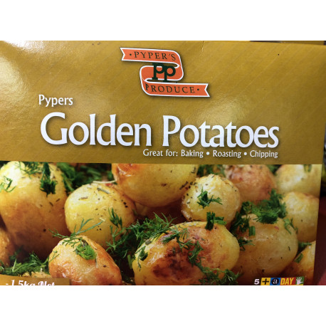 Potatoes organic Agria 1kg